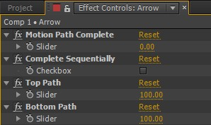 Align to Path Controls
