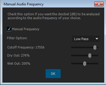 Audio Frequency Control