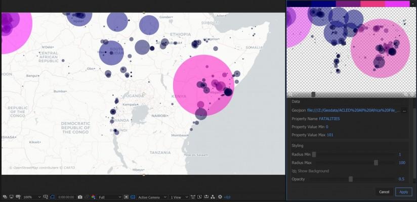 Visualizing large point datasets