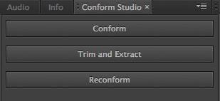 Conform Studio Panel