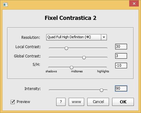 Fixel Contrastica 2 PS - User Interface