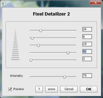 Fixel Detailizer 2 PS ExtendScript UI