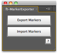 ft-MarkerExporter UI