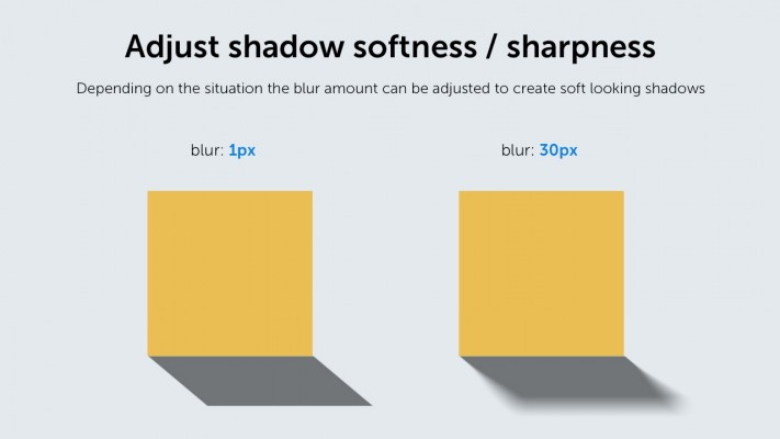 Adjust shadow softness / sharpness