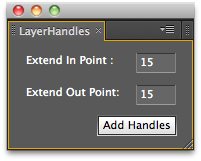 LayerHandles UI