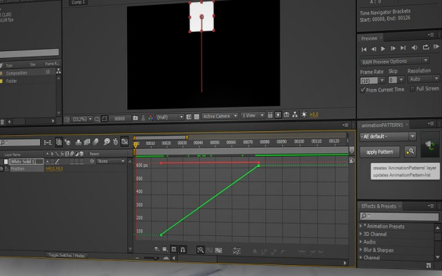 linear animation