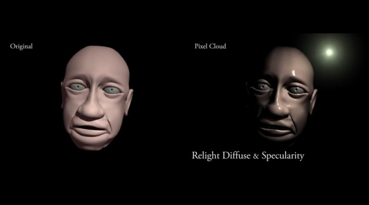 Relight diffuse and specularity