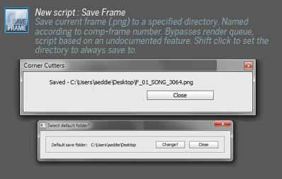 New script - Save Frame