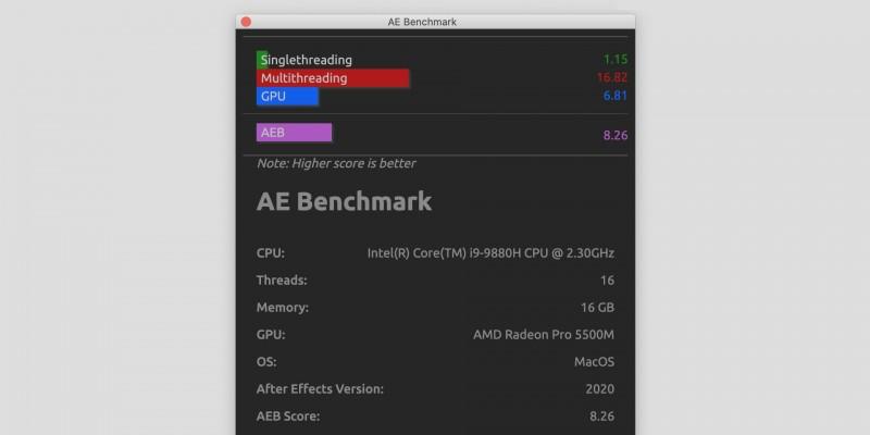AE Benchmark UI