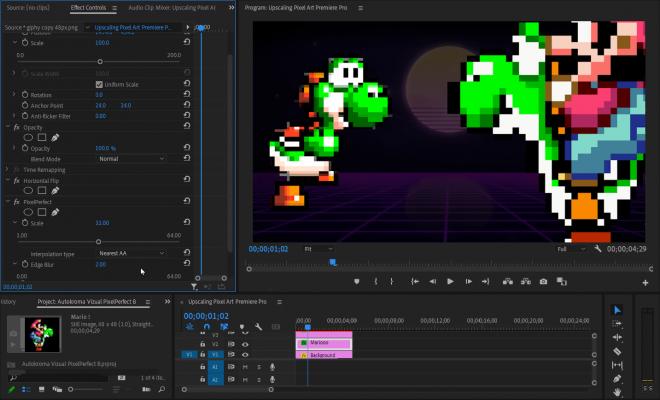 Vizual PixelPerfect (Pixel Art Upscaler) for Premiere Pro Screenshot 5 by Autokroma