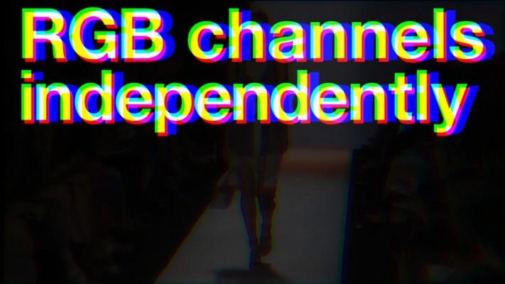 RGB Warp Distortion Transition in Premiere Pro CC 2017 EASY