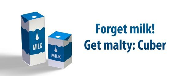 3D Milk Carton