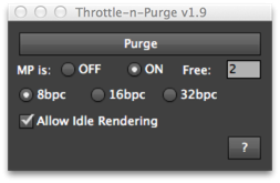 Throttle-n-Purge UI