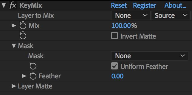 KeyMix UI