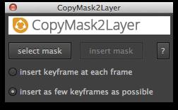 CopyMask2Layer UI