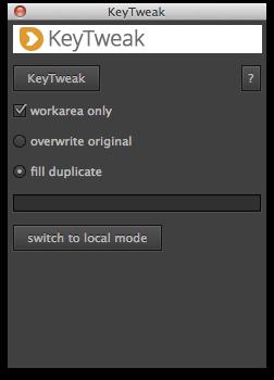 global mode of KeyTweak