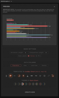 User Interface Preview
