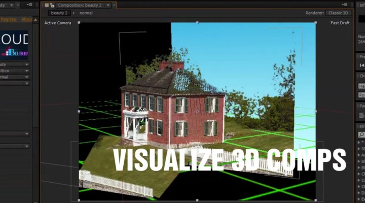 Vizualize 3D comps in After Effects