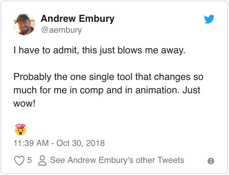 Andrew Embury Tweet
