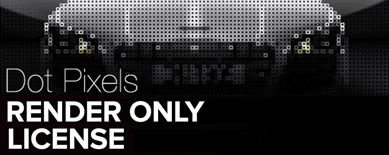 Dot Pixels Render Only