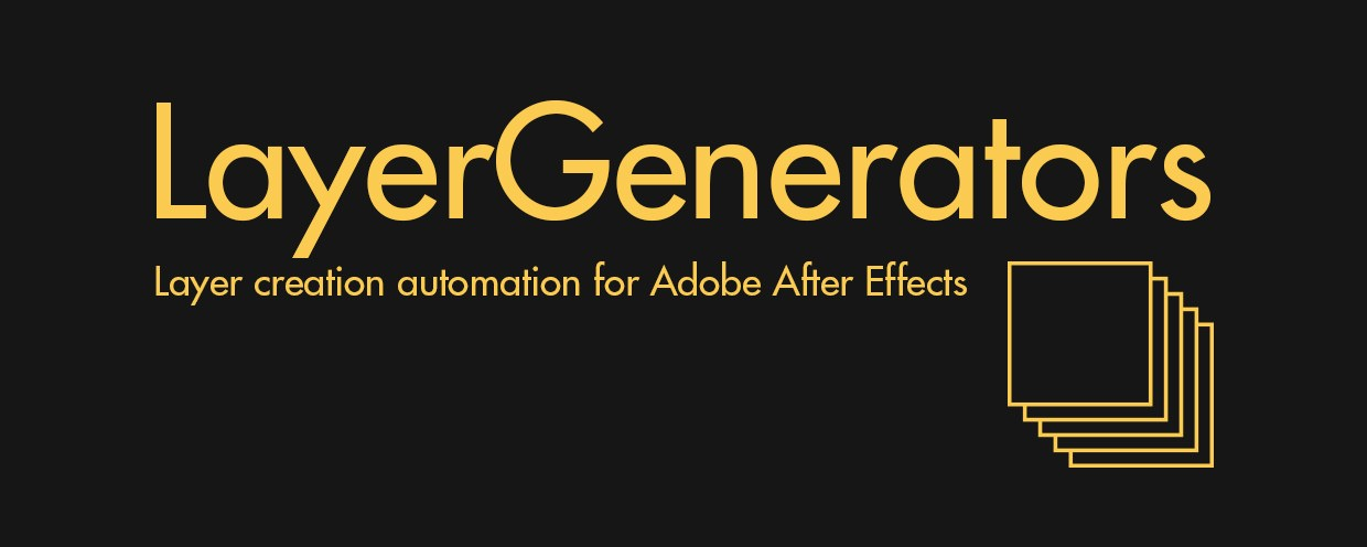 Layergenerators Aescripts Aeplugins Aescripts