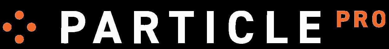 Particle Pro           Logo