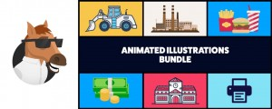 Animated Illustrations bundle for Animation Composer