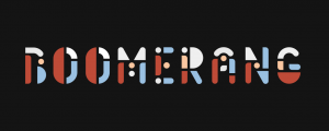 Boomerang - Animated Typeface