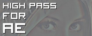 High Pass for AE