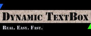 Dynamic TextBox