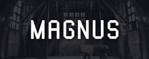 Magnus - Animated Typeface