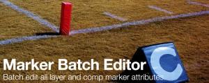 Marker Batch Editor