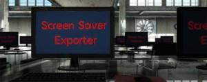 Screen Saver Exporter