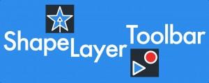 Shape Layer Toolbar