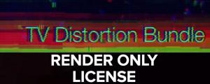 TV Distortion Bundle Render Only