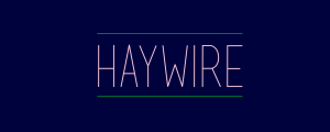 Haywire - Animated Typeface