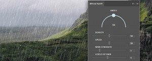 RainFX Photoshop Extension