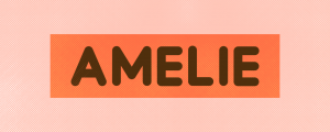 Amelie - Animated Typeface