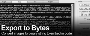 Export to Bytes
