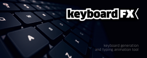 keyboardFX - splash