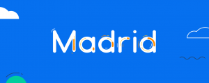 Madrid - Animated Typeface