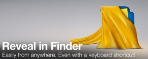 Reveal in Finder