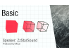Basic tutorial Eps. 1. Draw a 3D cube (There is English subtitles, please open it. )