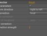 Color Corrector User Interface