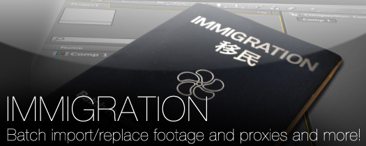 Immigration - Utilities - After Effects
