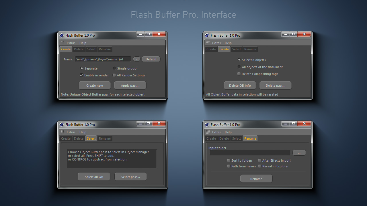 Flash Buffer. Interface