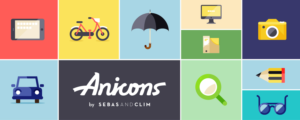 Anicons: The animated icon library - aescripts + aeplugins
