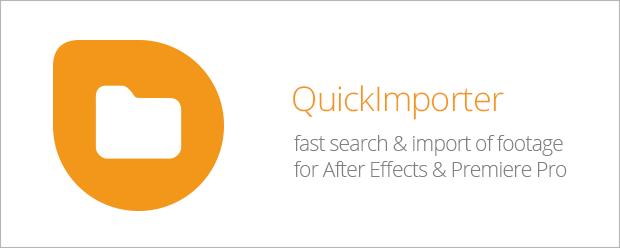 QuickImporter - aescripts + aeplugins