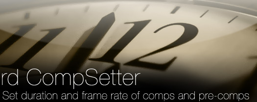 rd: CompSetter - After Effects