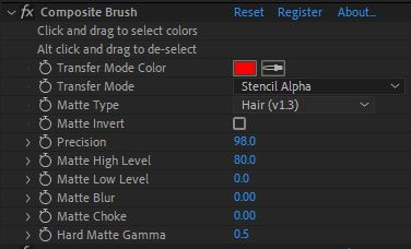 Composite Brush 1.6.1 (Plug-in for After Effects)